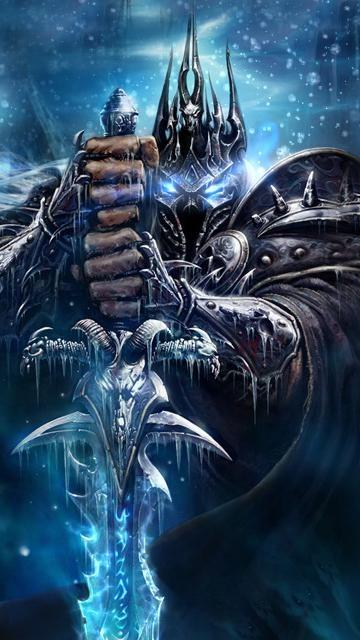 Картинка для nokia n97, наверняка знакомая поклонникам World of Warcraft